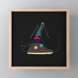 Star Gazer Tyson Framed Mini Art Print