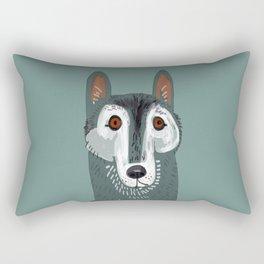 Totem Canadian wolf 1 Rectangular Pillow