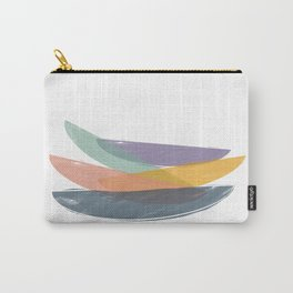 Abstract color balance Carry-All Pouch
