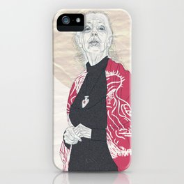 Jane Goodall iPhone Case