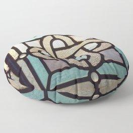 Sapphire Link Floor Pillow