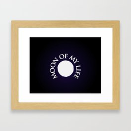Moon of the dragons Framed Art Print