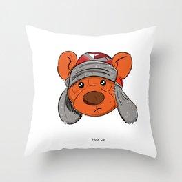 Bino and The Bear (Childish Gambino v3005 Tribute) Throw Pillow