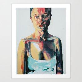 Portrait of Danielle Jacobson Art Print