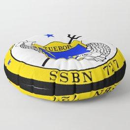USS MICHIGAN (SSBN-727) PATCH Floor Pillow