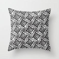 Black & White 4 Throw Pillow