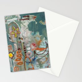 Not so Green Thumb Stationery Cards