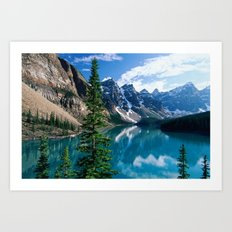 Moraine Lake II Art Print