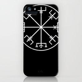 viking compass symbol iPhone Case
