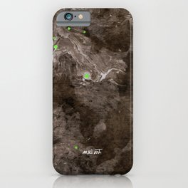 How the Ink Moves VIII iPhone Case