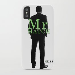 Mr. Match by JA Huss iPhone Case