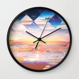 Tropical IX Wall Clock