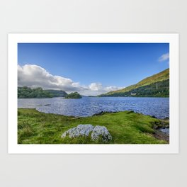 Loch Awe View Art Print