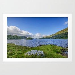 Loch Awe View Art Print