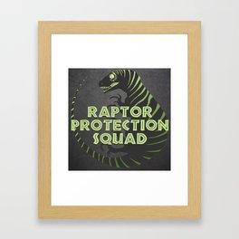 RPS (Raptor Protection Squad) - CHARLIE Framed Art Print