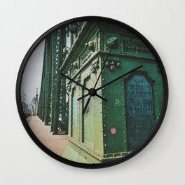 Liberty Bridge, Budapest II Wall Clock
