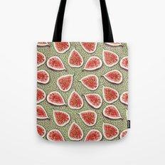 Figs Pattern Tote Bag