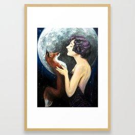 Waning Framed Art Print