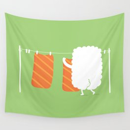 Laundry Day Wall Tapestry