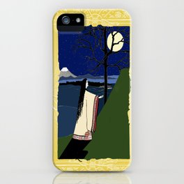 Kaguya Hime Daughter Of The Moon iPhone Case