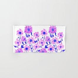 Sunflower Watercolor – Indigo Palette Hand & Bath Towel