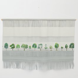 A Row Of Trees Wall Hanging