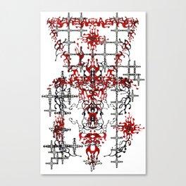 Blood OWL Canvas Print