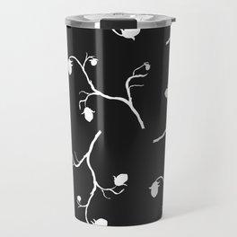 Forest Berry, Christmas Brier Spray Pattern Travel Mug