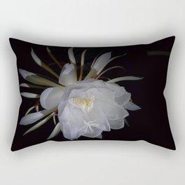 Sparkling Queen Flower of the Night Rectangular Pillow