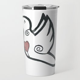 Bird Heart Travel Mug