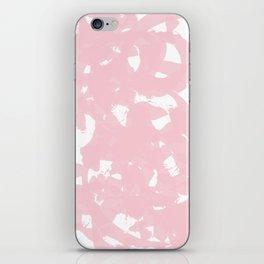 Baby Pastel Pink Brush Strokes iPhone Skin