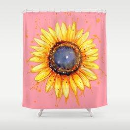 Sunflower Burst Shower Curtain
