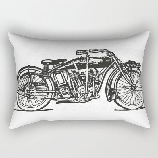 Motorcycle 2 Rectangular Pillow
