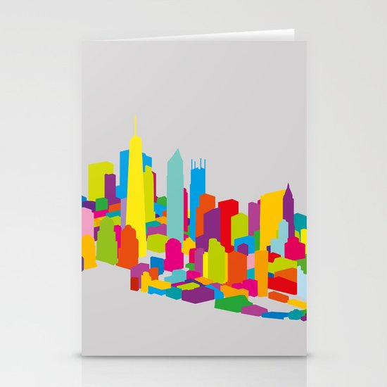 New WTC Isometric Stationery Cards