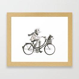 The Bike Ride Framed Art Print