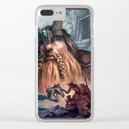 Kingdom of the Felsen Clear iPhone Case