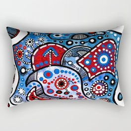 """Evening Star"" Rectangular Pillow"