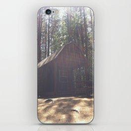 In a Cabin in the Woods iPhone Skin