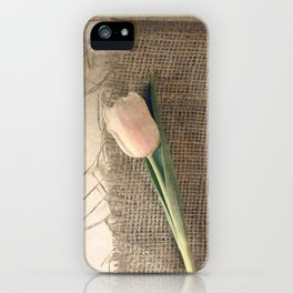 THE SIMPLE THINGS #1 iPhone Case