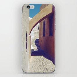 Santorini Walkway III iPhone Skin