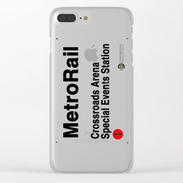 Crossroads Arena Special Events Station Clear iPhone Case