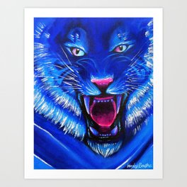 Beast from Another World Art Print