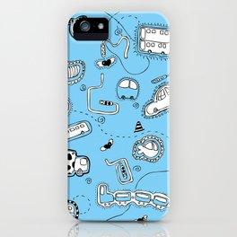 Vehicle Doodle (: iPhone Case