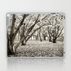 Magnolias in Black & White Laptop & iPad Skin