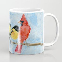Rainbow Birds Coffee Mug