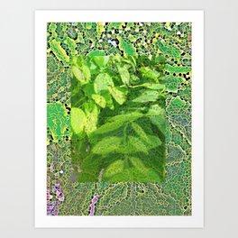 In a tree Art Print