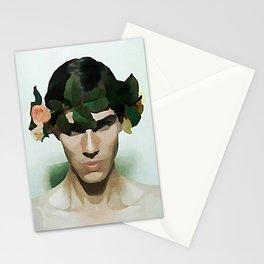 Flower Power - Kubistika by Boris Draschoff Stationery Cards