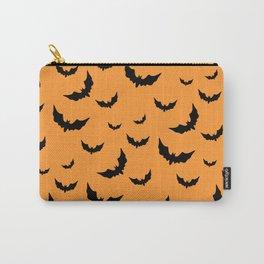 Halloween bats pattern  #society6 #decor #buyart #artprint Carry-All Pouch