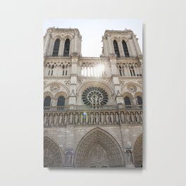 Notre-Dame ... Our Lady of Paris Metal Print