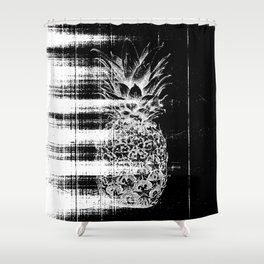 Anatomy of a Pineapple Shower Curtain